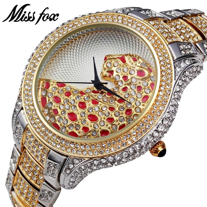 MISSFOX Miss Fox Brand Klockor Klockor Silver Lyx Armbandsur För - Damklockor