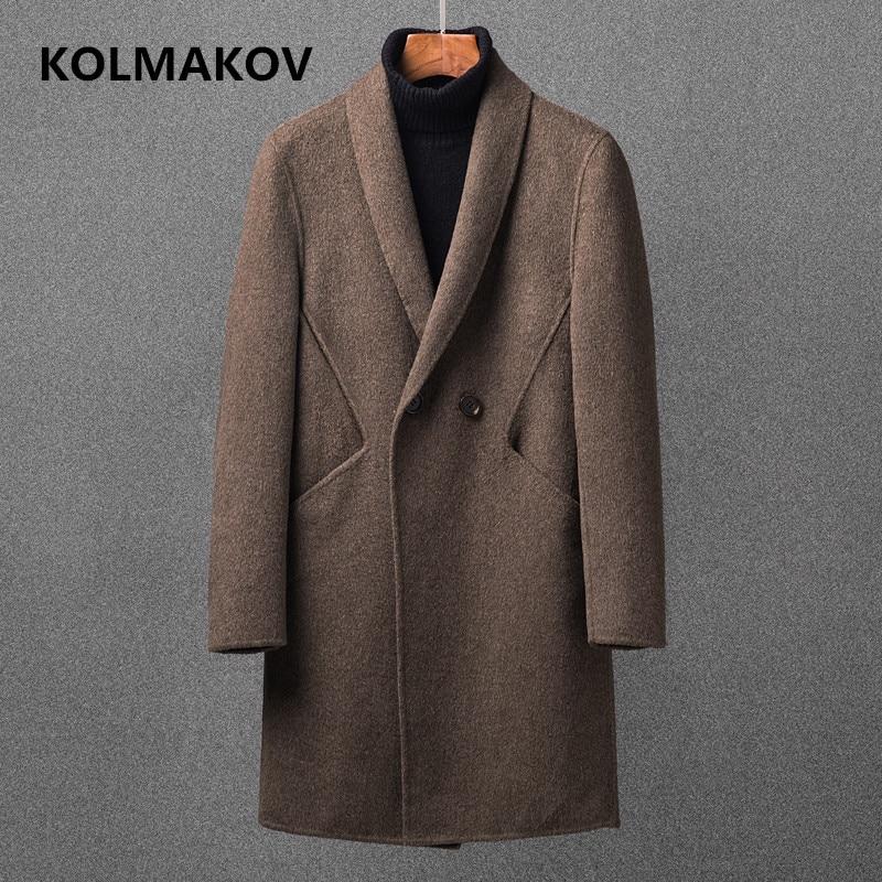 Jacken & Mäntel Gut Männer Mantel 2018 Doppel-schicht Hut Warme Design Männer Baumwolle Komfortable Mantel Größe 3xl Herrenbekleidung & Zubehör