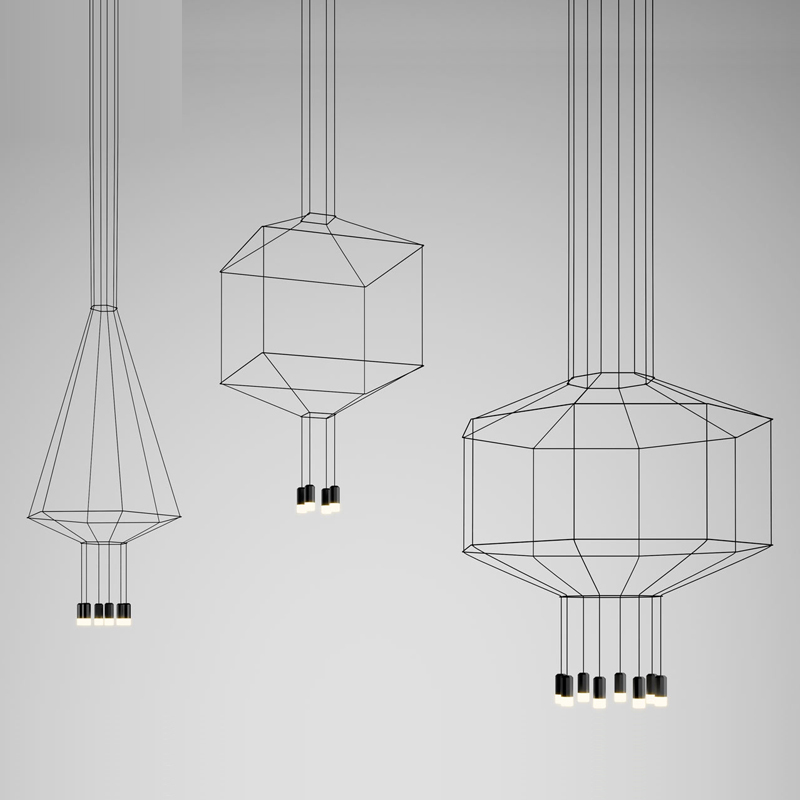 Modern LED Pendant Lights Line Hanging light Droplight Suspension Ceiling lamp Simple Home Lighting luminiare Decoration Lamps tiffany mediterranean style peacock natural shell ceiling lights lustres night light led lamp floor bar home lighting