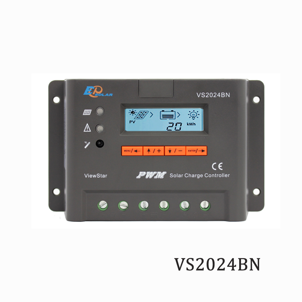Viewstar VS2024BN 20A 12V 24V EP PWM Programmable Solar Panel Charger Charger Batterys support MT50 WIFI Bluetooth elog01Viewstar VS2024BN 20A 12V 24V EP PWM Programmable Solar Panel Charger Charger Batterys support MT50 WIFI Bluetooth elog01