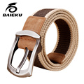 baieku Fashion contracted men outdoor leisure belt