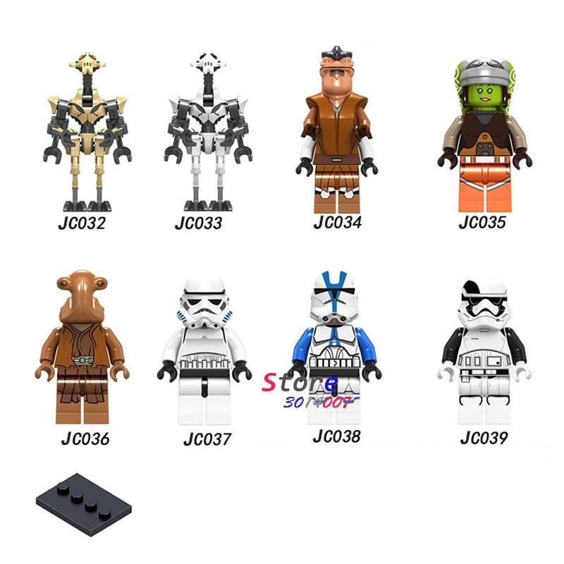 50pcs Sergeant Maz Kannata Snoke Pong Krell Master building block for children toy