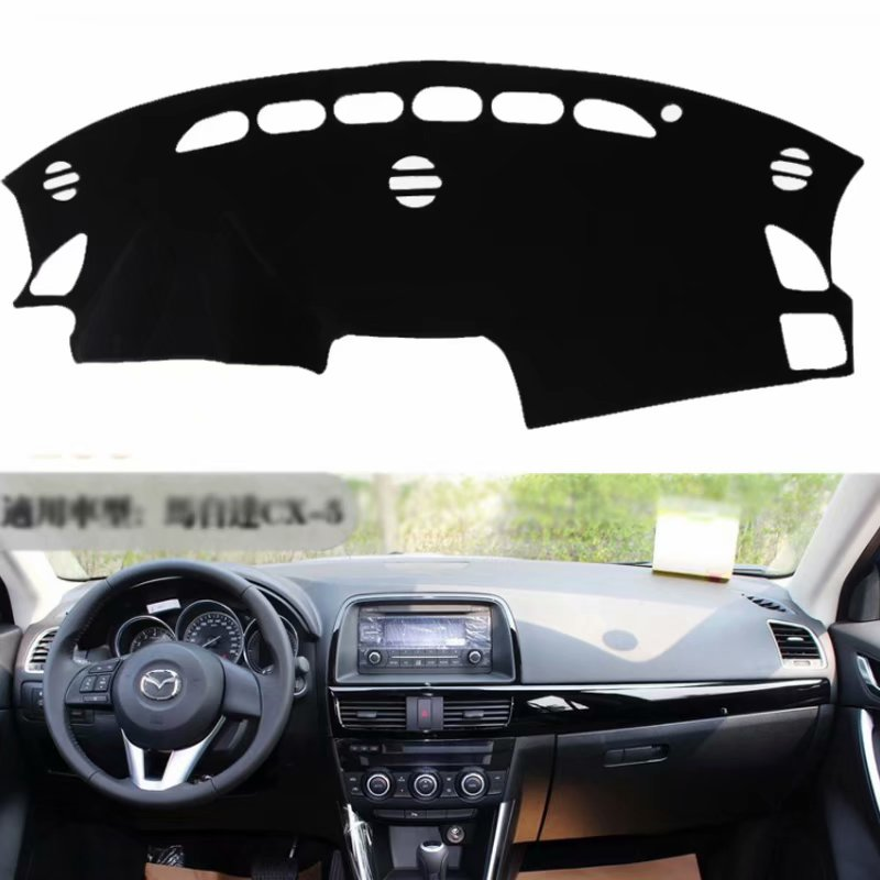 For Mazda CX-5 CX5 KE 2012 2012 2014 2015 2016 Car Styling Covers Dashmat Dash Mat Sun Shade Dashboard Cover Capter  Custom