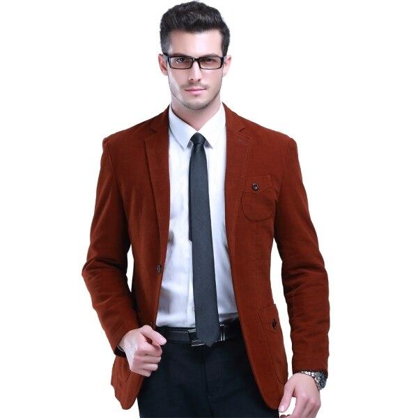 2015 England Style Men Dress Suit Solid Color Wedding Blazer Size M