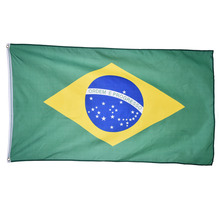 Brazil National Flag Hanging for Festival Home Decoration Office Flag Banner for Activity Parade The Olympic Games World Cup(China)