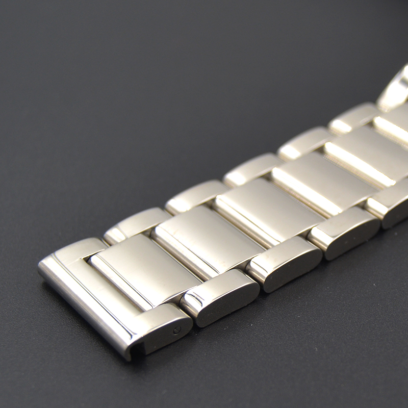 High-grade strap 18MM 20MM 22MM 24MM Men Women Full Stainless Steel Watch Strap Butterfly Clasp Wacthband For TAG Heuer CARRERA 14mm 16mm 17mm 18mm 19mm 20mm 21mm 22mm 23mm 24mm silver black full stainless steel watch strap wacthband for rarone with logo