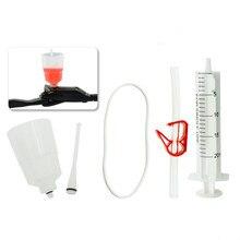 Гидравлический тормозной комплект для тормозной системы SHIMANO, минеральный масляный тормоз, набор воронки для ремонта велосипеда
