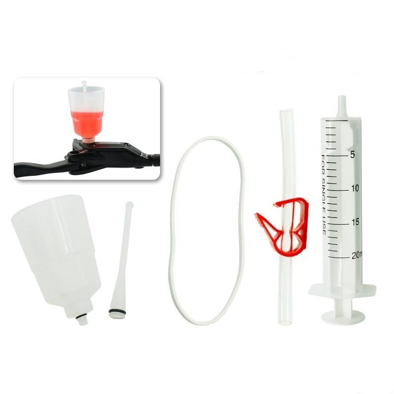 Hydraulic Brake Bleed Kit For SHIMANO Brake System, Mineral Oil Brake, Funnel Set Bike Repair Tool цена