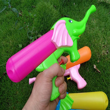 Cartoon Toy Gun Elephant Styling Water Childrens Toys Large Capacity Bottled Finger Spray