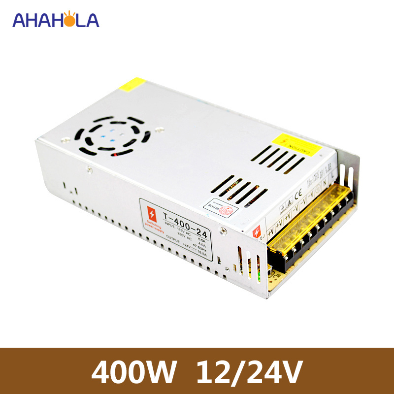 AC DC 24v Power Supply 400w Power Source 12v 400w Power Supply Unit