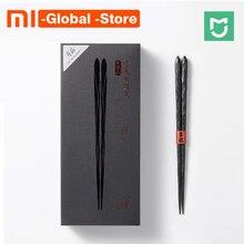Xiaomi Mijia Yiwuyishen палочки для еды PPS стекло волокно высокое температура сопротивление 6 пар в упаковке китайский палочки для Умный дом