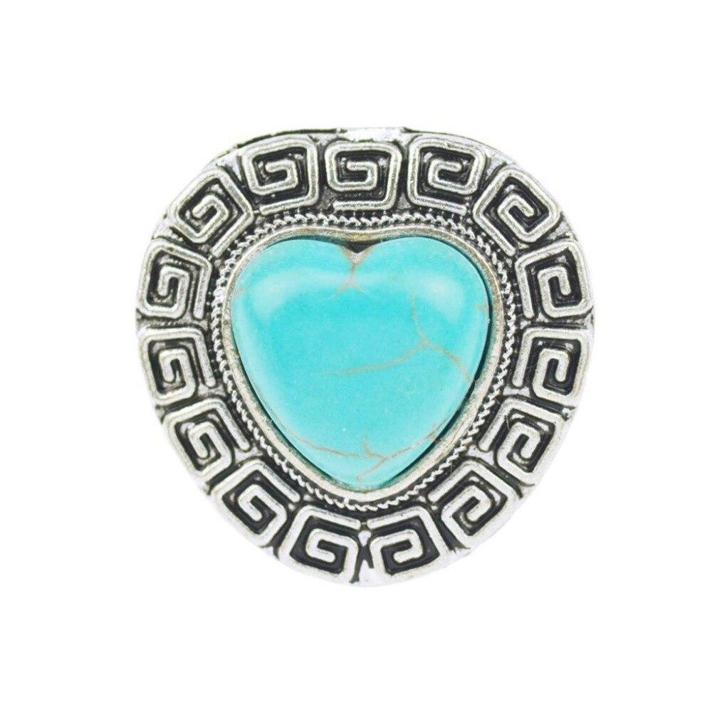 aabea2af6dd5 2017 vintage Bohemia corazón anillo para las mujeres Aleación de plata  antigua Tallados anillo moda joyería