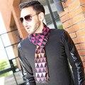 Fashion Autumn British Plaid Scarf Cashmere Scarf Men Boy Scarfs Winter Scarves Long Tassel Poncho Shawl Knitted