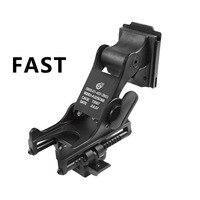 Fast Helmet Mount For Rhino NVG PVS 14 PVS 7 Night Vision Monocular Night Vision Black
