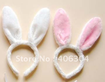Free shipping easter gift decoration rabbit bunny ear headband free shipping easter gift decoration rabbit bunny ear headband costume party hairband negle Images