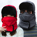Hat male winter women's lei feng cap winter outdoor cold-proof skiing windproof cotton cap