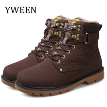 Winter Men Boots Hot Sale Lace-Up Solid Nubuck Leather Fashion Motorcycle Boot Outdoor Man Casual Martin Shoe Free Shipping цена в Москве и Питере