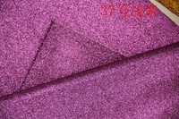 Purple Synthetic PVC Glitter Leather Vinyl Fabric Material