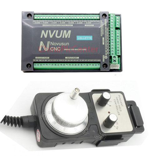 NVUM Mach3 USB CNC Controller Engraving Drilling Milling Machine Handwheel MPGNVUM Mach3 USB CNC Controller Engraving Drilling Milling Machine Handwheel MPG