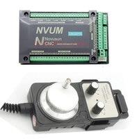NVUM Mach3 USB CNC Controller Engraving Drilling Milling Machine Handwheel MPG