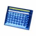 TIANHOO Women Handmade Rivet Card Holder Slim Wallet Patent leather Credit Card Holders Girls Cardholder Protector