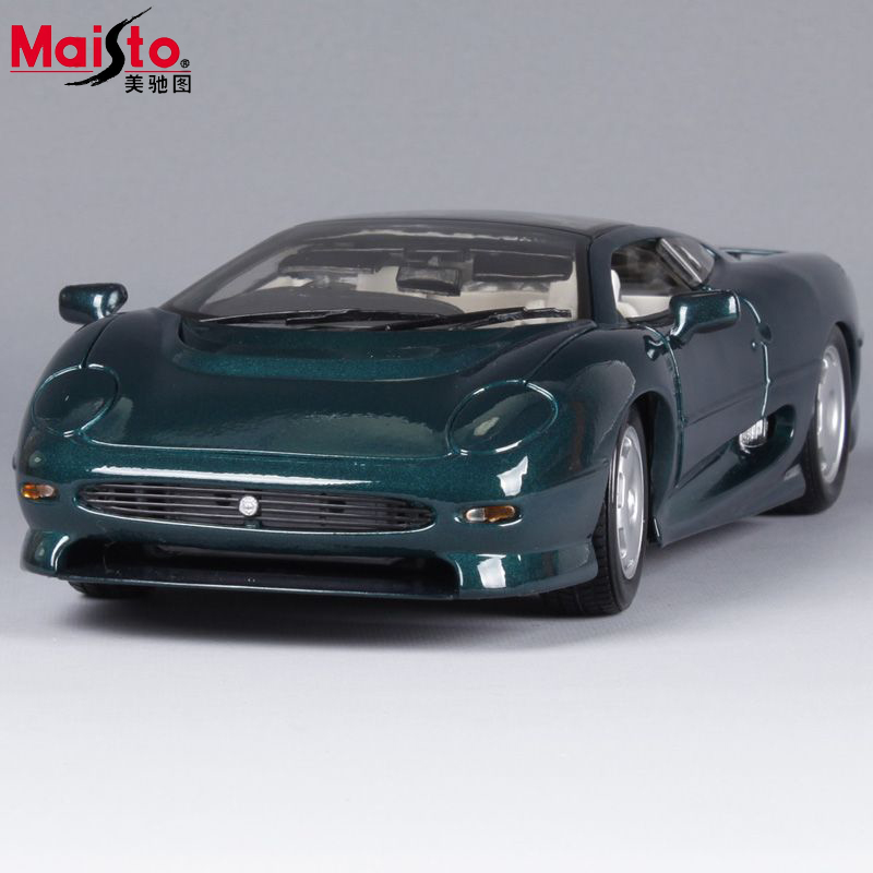 Maisto Jaguar XJ220 Model 1:18 Alloy Car Model Toys Diecasts & Toy Vehicles Collection Kids Toys Gift bburago 360 challengr 1 24 alloy car model toys diecasts