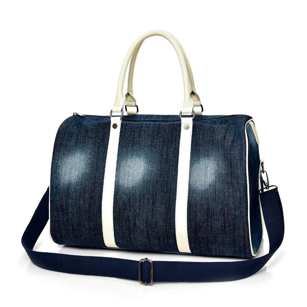 Luggage-Bags Tote Trip Fashion Women Big Denim Female High-Quality