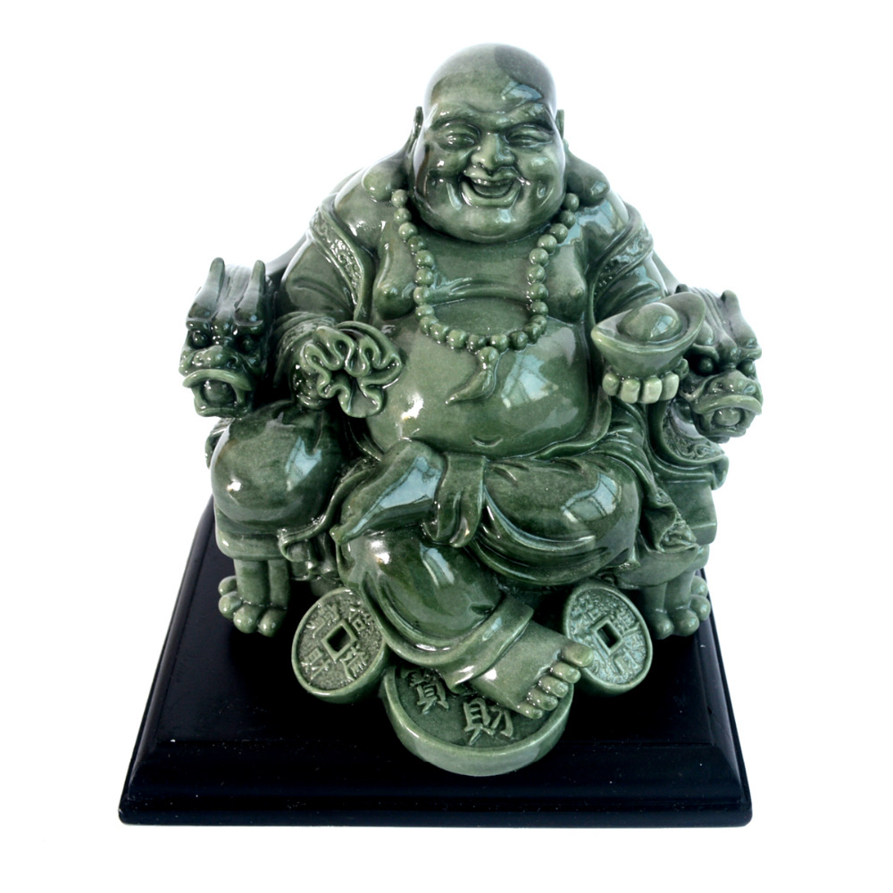 Feng Shui Big Laughing Buddha of Wealth/ Happiness W9012Feng Shui Big Laughing Buddha of Wealth/ Happiness W9012