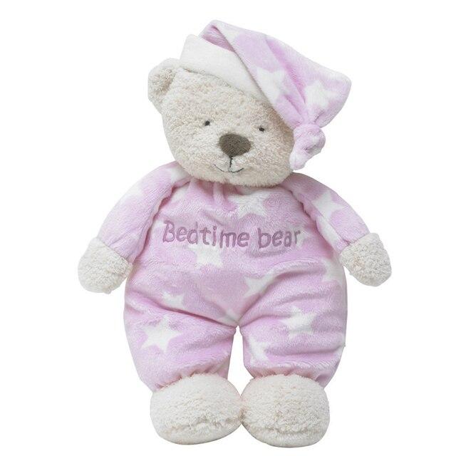 30 cm ours en peluche peluche doux sommeil coucher ours Animal en peluche jouet poupée cadeaux pour apaiser bébé
