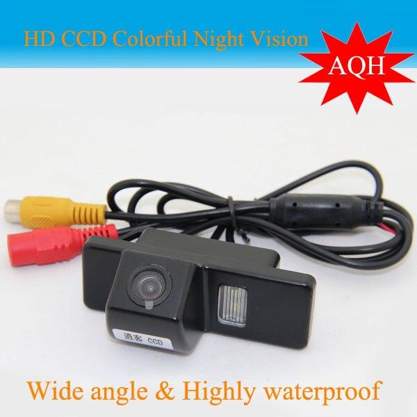 imágenes para Promoción Facory cámara de vista trasera Del Coche para Peugeot 307 Hatchback 307 CC 308 CC/Greely Con visión nocturna de HD cámara del coche del CCD