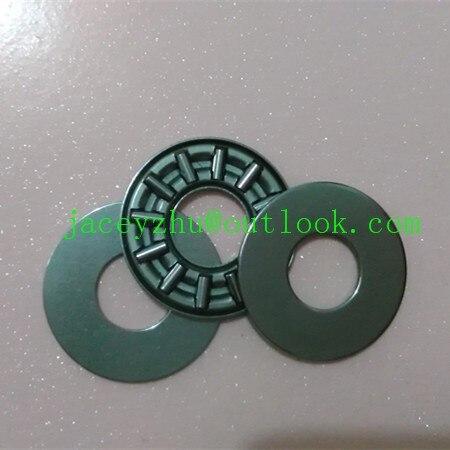 все цены на 2pcs AXK series AXK85110 +2AS85110 thrust needle roller bearing 85x110x4mm bearing +whosale and retail