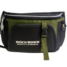 Рок инструмент для байкеров пакет черный Внедорожник мотовездеход Мотоцикл инструмент для верховой езды трубка поясная сумка для хранения зеленый/черный