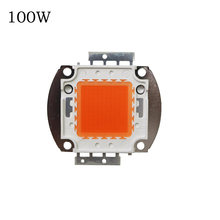 Deep Red LED CHIP 1W/3W 10W/20W/30W/50W/100W Led Grow Chip.Epistar led chip full spectrum 400nm-840nm for indoor plant grow 1PCS(China)