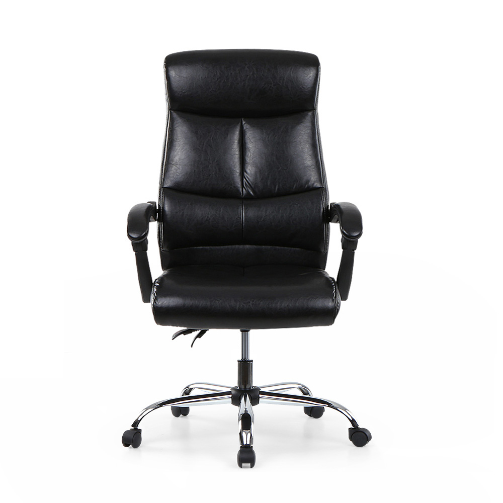 Pu Leather Office Chair Menards Chairs Ikayaa Adjustable Ergonomic Executive High Back Furniture Us De Stock