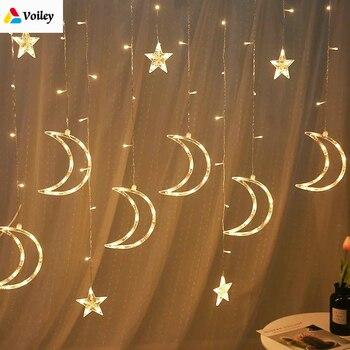 0c162576029 Decoración de la boda cortina luces 2