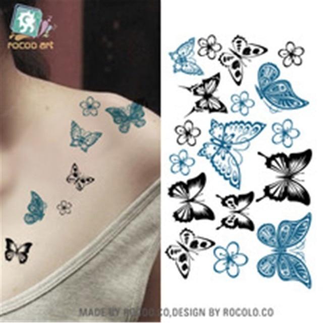 Iris Tatouage nouveau design de iris motif temporaire tatouage au henné corps de