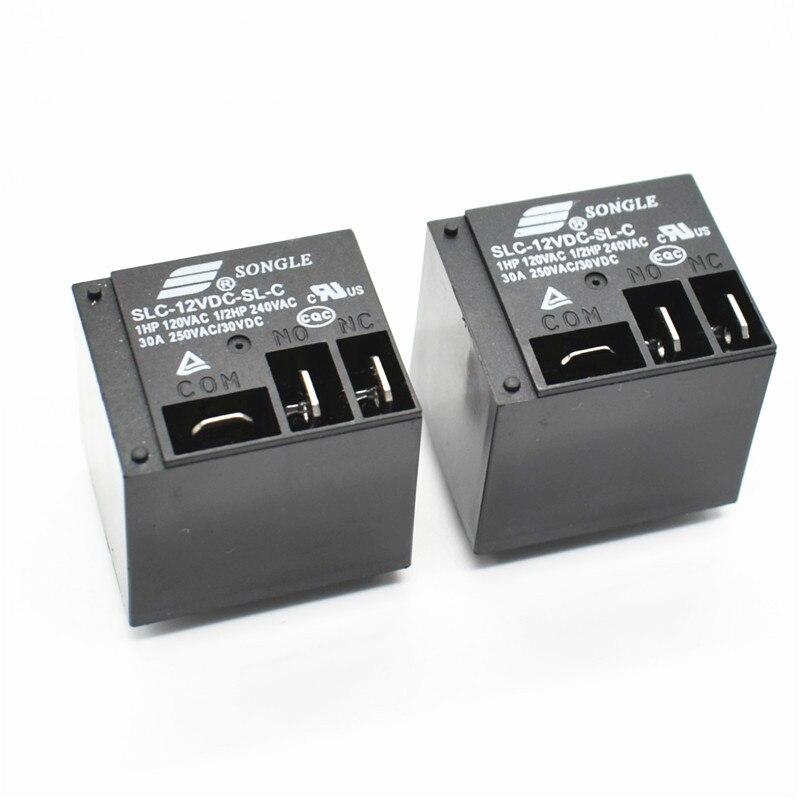 Power Relays Slc 12vdc Sl C 12v 30a T91 Hf2100 A Set Of