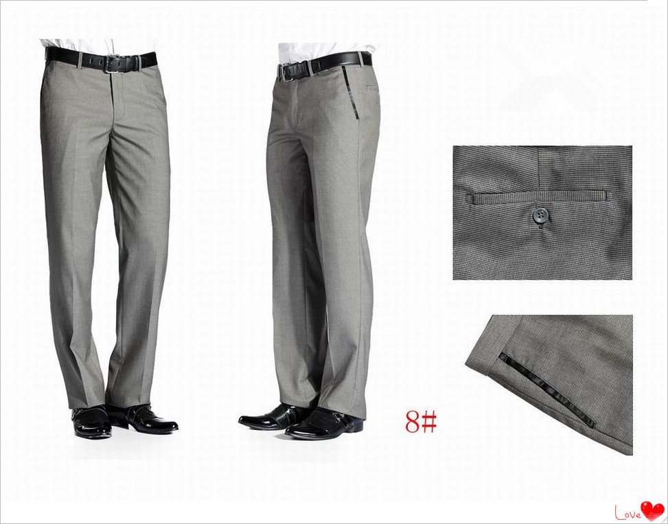 2017 Best Ing Brand Designer Men S Formal Office Pants Slim Fit Casual Trousers Mens Suit Plus Size In Costumes From Novelty Special Use