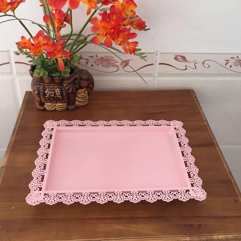 7 piezas de pie de pastel Rosa niños fiesta cupcake stand decoración utensilios de cocina para hornear juego de vajilla de fiesta-in Soportes from Hogar y Mascotas    2
