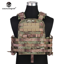 Emersongear Caza Chaleco Militar Airsoft Combat Emerson CP Estilo Plate Carrier Airsoft CHALECO Cereza NCPC EM7435D Mandrake