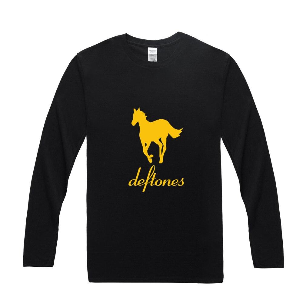 T shirt deftones white pony - Deftones T Shirts