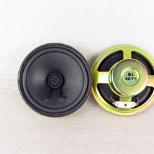 2pcs 3-inch paper cone round anti-magnetic full-range speaker 4 ohm 3W diameter 77MM, height 30MM(China)