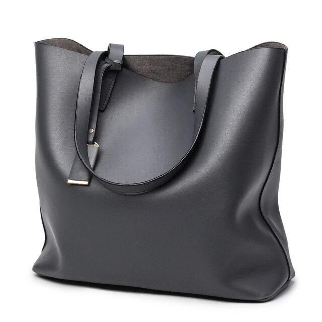 Hot Bags Fashion Vintage Super Fibre Tote Bag Female One Shoulder Cross Body Handbag