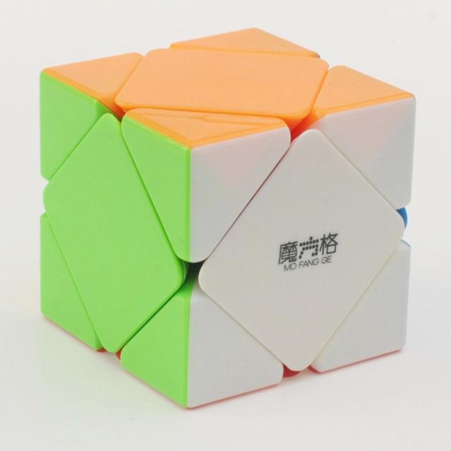 2016 nova QIYI MFG jogo de inclinação cubo mágico Skewb Magic Cube qi brinquedos educativos para crianças
