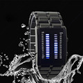CocoShine ZM-856 High Quality Binary LED Watch Lron Man Full Of High-grade Waterproof Cool Lava Watch wholesale Free shipping
