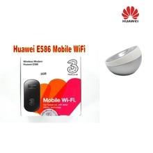 New Popular Huawei E586 3G Mobile HSPA 21Mbps UMTS WLAN Wifi Hotspot Portable dock station