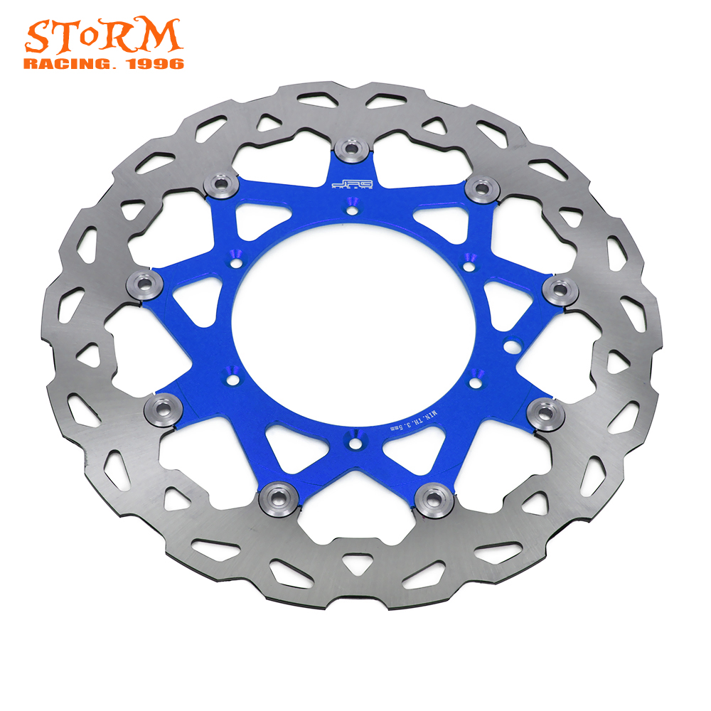 320MM Front Floating Brake Disc Rotor For YAMAHA WR250 YZ250 YZF250 YZ250F WRF250 WRF426 YZ426F WR450F YZ450F YZ450F WR426F YZF mfs motor motorcycle part front rear brake discs rotor for yamaha yzf r6 2003 2004 2005 yzfr6 03 04 05 gold