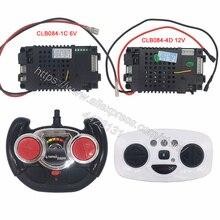 CLB084 4D kinder elektrische auto 2,4G fernbedienung empfänger controller,12V und 6V CLB sender für baby auto