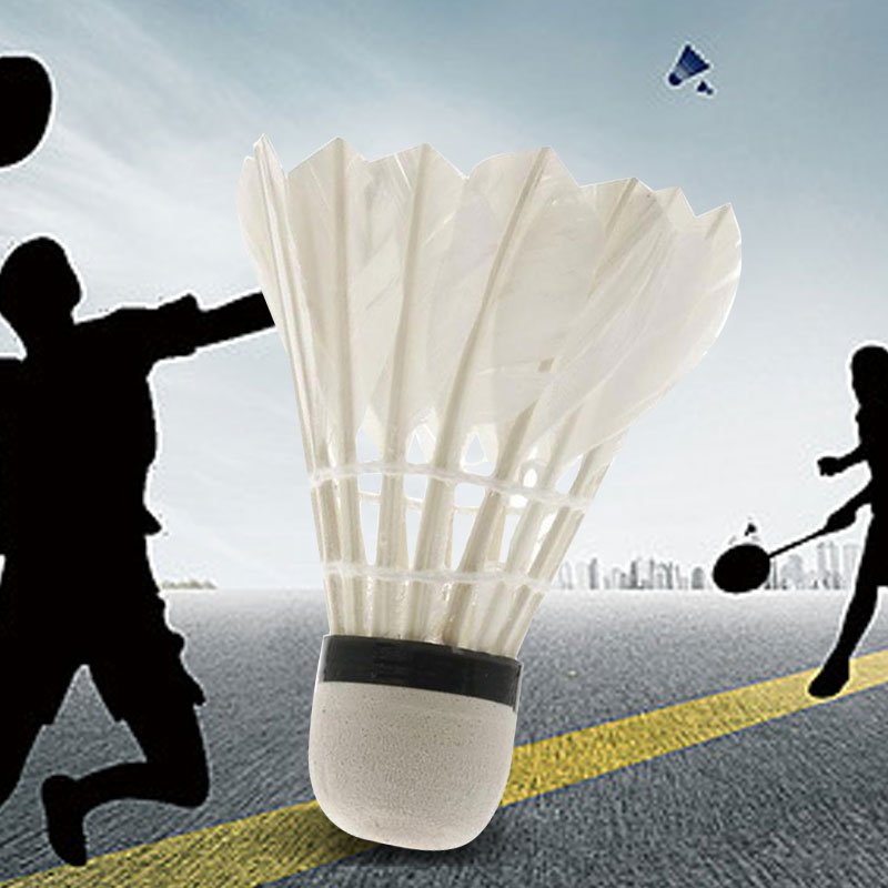 Badminton Shuttlecocks Man Heath Game Ball Plastic Sport Colorful Dropshipping Outdoor Goose Feather Shuttlecocks