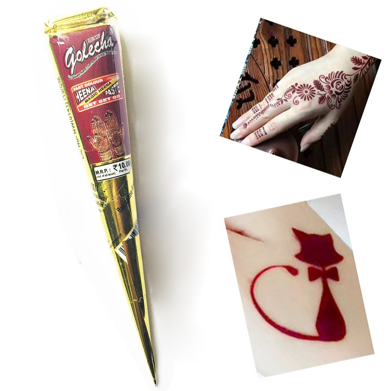 Henna Tattoo Cones For Sale: Aliexpress.com : Buy 12Pcs/set Natural Dark Red Henna
